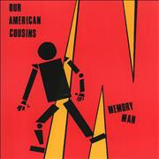 Click here for more info about 'Our American Cousins - Memory Man - Red Vinyl'