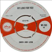 Click here for more info about 'Owen And Leon - My Love For You'