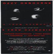 Click here for more info about 'Ozzy Osbourne - 4 From Ozzmosis'