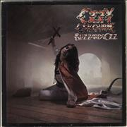 Click here for more info about 'Blizzard Of Ozz - Jet Labels - EX'