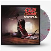 Click here for more info about 'Ozzy Osbourne - Blizzard Of Ozz - Silver & Red Swirl Vinyl - Sealed'