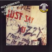 Click here for more info about 'Ozzy Osbourne - Just Say Ozzy - EX'