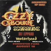 Click here for more info about 'Ozzy Osbourne - Monsters Of Rock'
