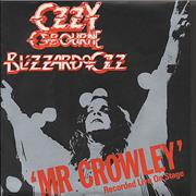 Click here for more info about 'Ozzy Osbourne - Mr Crowley - P/S'