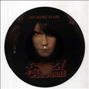"Ozzy Osbourne No More Tears UK 12"" picture disc"