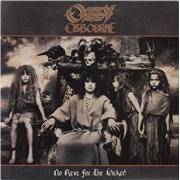 Ozzy Osbourne No Rest For The Wicked - EX UK vinyl LP