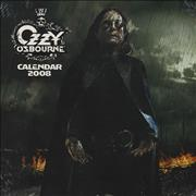 Click here for more info about 'Ozzy Osbourne - Official Calendar 2008'