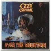 "Ozzy Osbourne Over The Mountain UK 7"" vinyl"