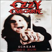 Click here for more info about 'Ozzy Osbourne - Scream - Autographed'