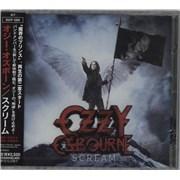 Ozzy Osbourne Scream Japan CD album Promo