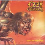 "Ozzy Osbourne Shot In The Dark UK 12"" vinyl"