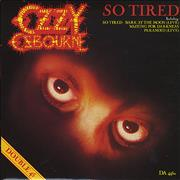 Click here for more info about 'Ozzy Osbourne - So Tired - Doublepack'