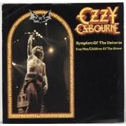 "Ozzy Osbourne Symptom Of The Universe UK 12"" vinyl"