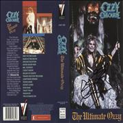 Click here for more info about 'Ozzy Osbourne - The Ultimate Ozzy - Autographed Insert'