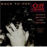 "Ozzy Osbourne The Ultimate Sin + Poster UK 12"" vinyl"