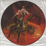 Ozzy Osbourne The Ultimate Sin UK picture disc LP