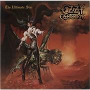 Ozzy Osbourne The Ultimate Sin UK vinyl LP