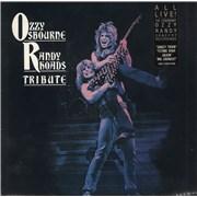 Ozzy Osbourne Tribute -Stickered UK 2-LP vinyl set