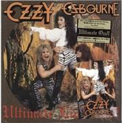 """Ozzy Osbourne Ultimate Live Ozzy Japan 12"""" vinyl"""