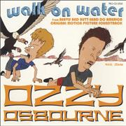 Click here for more info about 'Ozzy Osbourne - Walk On Water - Picture Sleeve'