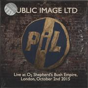 Click here for more info about 'Live At O2 Shepherd's Bush Empire, London, October 2nd 2015 - Sealed'