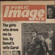 Click here for more info about 'P.I.L. - Public Image - Newspaper Sleeve - EX'