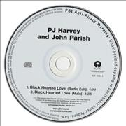 Click here for more info about 'P.J. Harvey - Black Hearted Love'