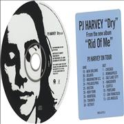 Click here for more info about 'P.J. Harvey - Dry'