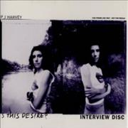 Click here for more info about 'P.J. Harvey - Is This Desire ? Interview Disc'