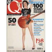 P.J. Harvey Q - December 2001 UK magazine