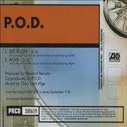 Click here for more info about 'P.O.D. - 2-Track Satellite Sampler'