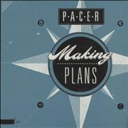 Click here for more info about 'Pacer - Making Plans - Blue & White Splatter'