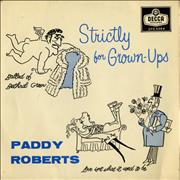 Click here for more info about 'Paddy Roberts - Strictly For Grown-Ups EP'