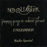 Click here for more info about 'Page & Plant - No Quarter Unledded Radio Special'