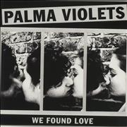 Click here for more info about 'Palma Violets - We Found Love - White Vinyl'