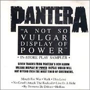 Click here for more info about 'Pantera - A Not So Vulgar Display Of Power'