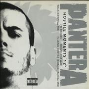 Click here for more info about 'Pantera - Hostile Moments 12