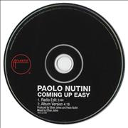 Click here for more info about 'Paolo Nutini - Coming Up Easy'