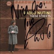 Click here for more info about 'Paolo Nutini - These Streets - Autographed'