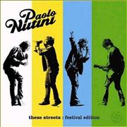 Click here for more info about 'Paolo Nutini - These Streets - Festival Edition'