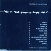 Click here for more info about 'Papa M - Live from A Shark Cage'