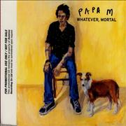 Click here for more info about 'Papa M - Whatever, Mortal'