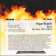 Click here for more info about 'Papa Roach - Burn'