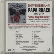 Click here for more info about 'Papa Roach - Getting Away With Murder'