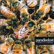 Click here for more info about 'Paradise Lost - Believe In Nothing - Autographed'