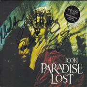 Click here for more info about 'Paradise Lost - Icon - Autographed'