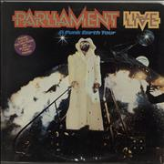 Click here for more info about 'Parliament - Live - P. Funk Earth Tour + Poster'