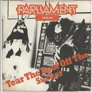 """Parliament Tear The Roof Off The Sucker (Give Up The Funk) UK 7"""" vinyl"""