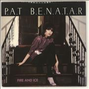 Click here for more info about 'Pat Benatar - Fire & Ice - Mispressed Brown Vinyl'