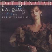 Click here for more info about 'Pat Benatar - We Belong + Poster'